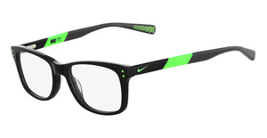 Nike NIKE 5538 (001) Black-Flash Lime