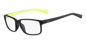 Nike NIKE 7095 (001) MATTE BLACK/SILVER