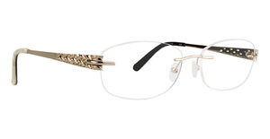 Totally Rimless TR 243 Arabesque Eyeglasses