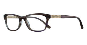 Cafe Lunettes CB1043 Purple/Brown Horn