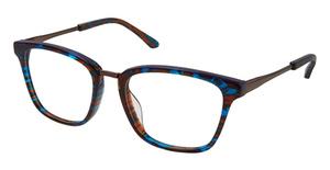 Lulu Guinness L908 Brown/Blue