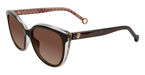 CH Carolina Herrera SHE694 Havana Crystal 09W2