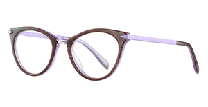 Capri Optics DC156 Brown/Purple