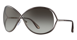 Tom Ford FT0130 Shiny Dark Bronze