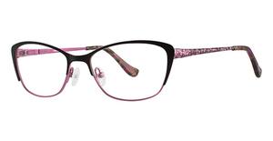Kensie sweetheart Black Pink