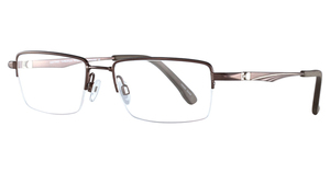 Aspex CT243 1-Satin Dark Brown & Grey
