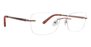 Totally Rimless TR 256 Chevron Eyeglasses