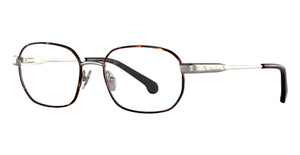 Brooks Brothers BB1049 Silver/Tortoise