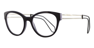 Miu Miu 0MU 04NV BLACK Eyeglasses