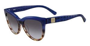 MCM MCM639S (423) Striped Blue/Blue Visetos