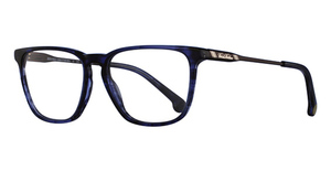 Brooks Brothers BB2034 Navy Horn/Brown