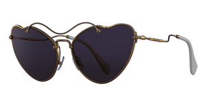 Miu Miu MU 55RS Antique Gold