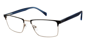 London Fog Mens Mitch MM Eyeglasses