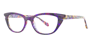 Leon Max Leon Max 4045 Purple Multi