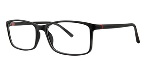 B.M.E.C. BIG Wave black matte/red