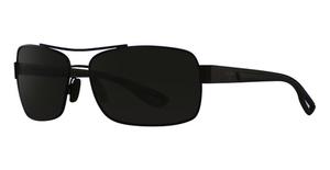 Maui Jim Ola 764 Matte Black With Dark Translucent Grey Rubber