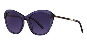 Swarovski SK0143 Shiny Violet / Gradient Or Mirror Violet