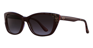 Guess GU7511 shiny red / gradient brown