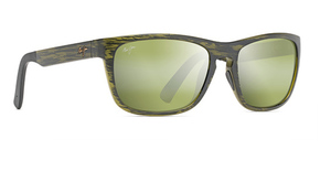 Maui Jim South Swell 755 Matte Green Stripe