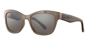 Kenneth Cole New York KC7217 Shiny Light Brown / Brown Polarized