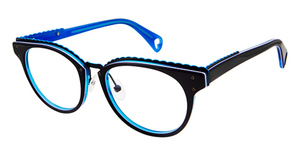 Betsey Johnson Betsey Johnson 164 Luscious Lennon Black Blue 05