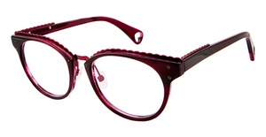 Betsey Johnson Betsey Johnson 164 Luscious Lennon Burgundy 06