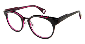 Betsey Johnson Betsey Johnson 164 Luscious Lennon Black Pink 01