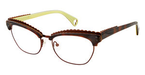 Betsey Johnson Betsey Johnson 163 Mad of Mod Tortoise 02