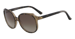Calvin Klein CK8573S (262) BROWN TORTOISE/CRYSTAL BROWN