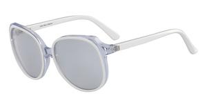 Calvin Klein CK8573S (100) WHITE/CRYSTAL