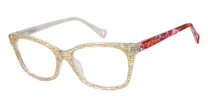 Betsey Johnson Betsey Johnson Graffiti Gold