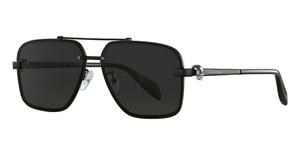 Alexander McQueen AM0081S Black-Black-Grey