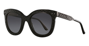 Bottega Veneta BV0035S Black-Black-Grey