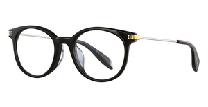 Alexander McQueen AM0093OA Black-Silver-Transparent