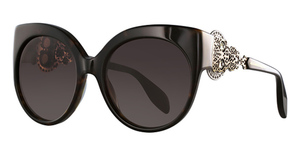 Alexander McQueen AM0061S Avana-Gold-Brown