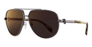 Alexander McQueen AM0018S Ruthenium-Ruthenium-Red