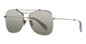 Alexander McQueen AM0096SA Silver-Silver-Gold