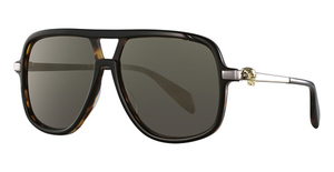 Alexander McQueen AM0080S Black-Ruthenium-Bronze