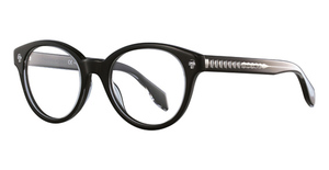 Alexander McQueen AM0028O Black-Black-Transparent
