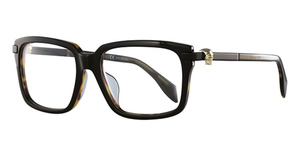 Alexander McQueen AM0022OA Black-Black-Transparent