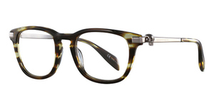 Alexander McQueen AM0085O Avana-Ruthenium-Transparent