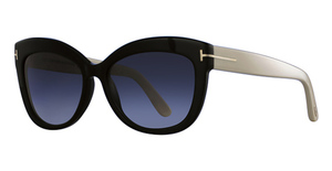 Tom Ford FT0524 Black/Ivory
