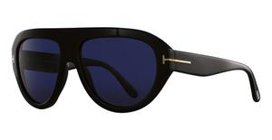 Tom Ford FT0589 Shiny Black