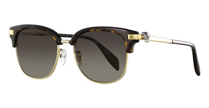 Alexander McQueen AM0095SA Avana-Gold-Brown