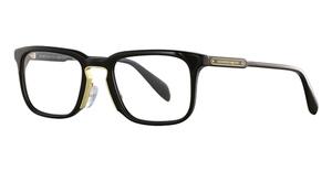 Alexander McQueen AM0079O Black-Black-Gold