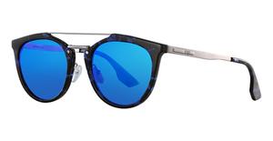 McQ MQ0037S Light-Blue-Ruthenium-Blue