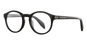 Alexander McQueen AM0075O Black-Black-Transparent