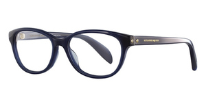 Alexander McQueen AM0074O Blue-Blue-Transparent