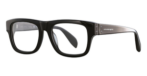 Alexander McQueen AM0070O Black-Black-Transparent
