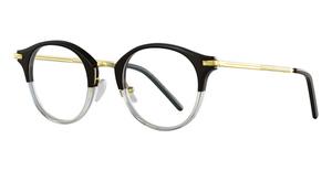Boucheron BC0025O Black-Gold-Transparent
